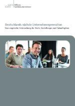 Unternehmensnachfolge_Stiftung Familienunternehmen_2015_Cover