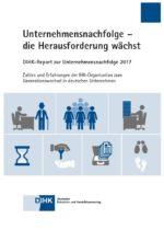 DIHK-Studie Unternehmensnachfolge_2017_Cover